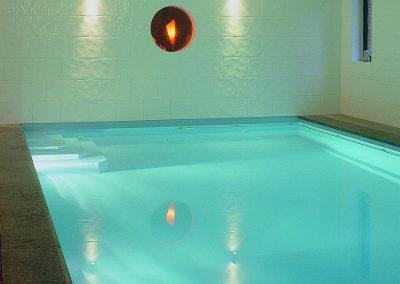 éclairage pour piscine