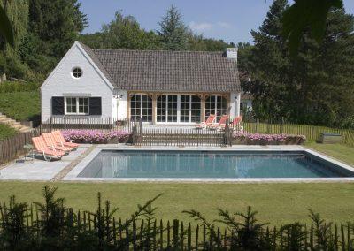 la piscine traditionelle